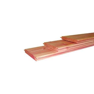 Douglas geschaafd dakbeschot 1,6 x 11,6 x 300 cm, onbehandeld.