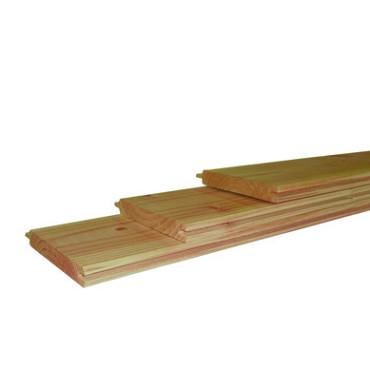 Douglas geschaafd dakbeschot 1,6 x 11,6 x 300 cm, groen ge#mpregneerd.