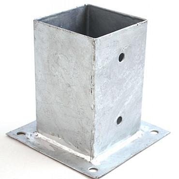Voetsteun Plaat Thermisch Verzinkt 71x71 Mm
