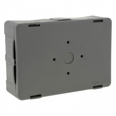 Flexbox lasdoos dun inclusief deksel en 4 inserts VSV donker grijs RAL7037
