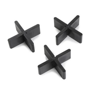 Vari Spacer Kruis afbreekbaar 5 x 19 x 55 mm Afstandhouders ( zak van 100 stuks )