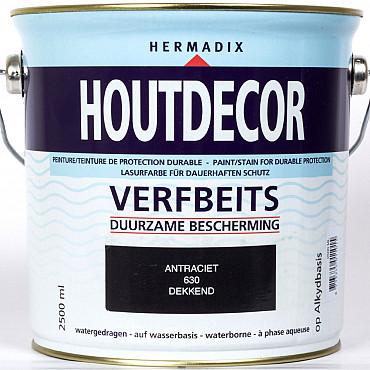 Hermadix Houtdecor Dekkend 630 2,5 Liter