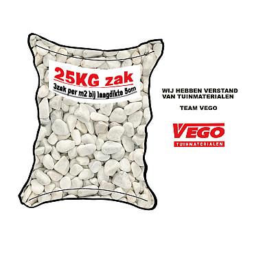 25 kg Carrara rond 25-40 mm