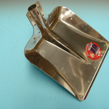 Aluminium ballastschop Profi, grootte 9, Duitse uitvoering zonder steel. Bladmaat 38 x 38cm.