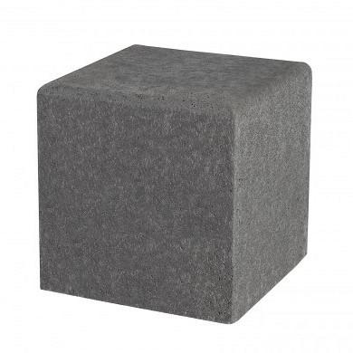 Schellevis Zitelement Vierkant 50x50x50cm Grijs