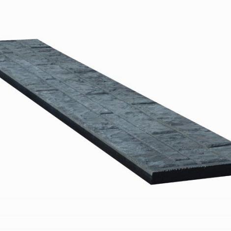 Beton onderplaat rotsmotief antra 3x36x184 cm