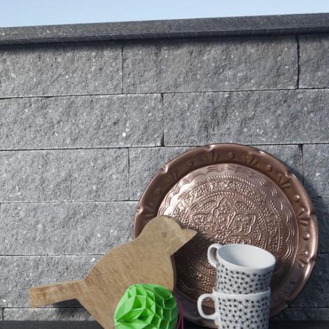 Gevelsteen Rox 37,7x9x8,9 Noors grijs