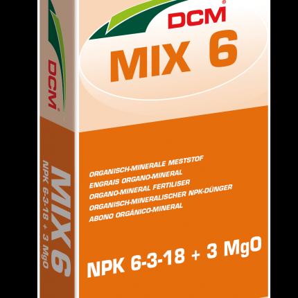 DCM Mix 6 (minigran®) 6-3-18 + 3% MgO zak á 25 kg.