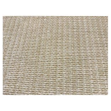 Harmonicadoek HDPE 290 x 500 cm, incl. bevestigingsmaterialen, gebroken wit.
