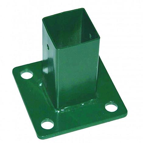 Bodemplaat rechthoek groen 10x15cm
