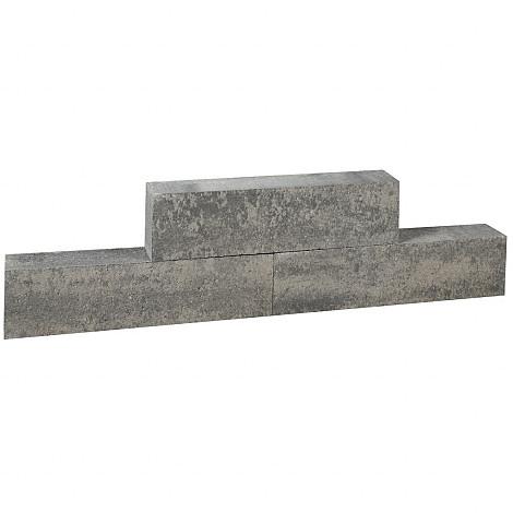 Forto Walling Grijs/Zwart 60x10x10cm