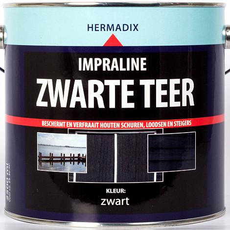 Hermadix Impraline Zwarte Teer 2,5 Liter