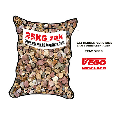 25 kg Grauwacke split 8-16 mm