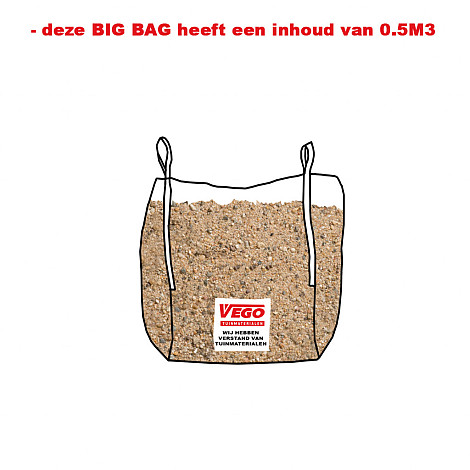 BigBag Brekerzand 0,5 m³