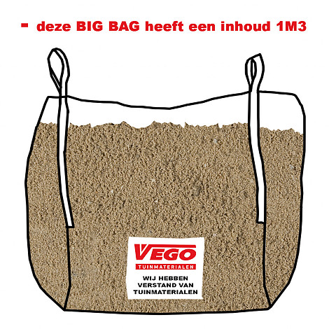 BigBag Drainzand 1 m³