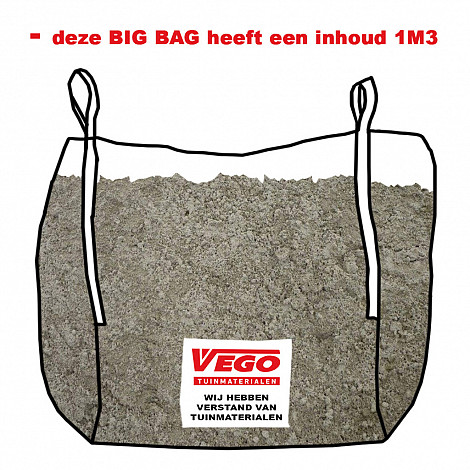 BigBag Ophoogzand 1 m³