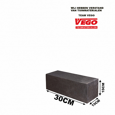 Linia Excellence 15x15x30 cm Nero