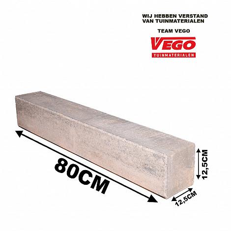 Decor Block XL Mosselkalk 80x12,5x12,5cm