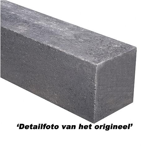 Forto Walling Zwart 60x10x10cm