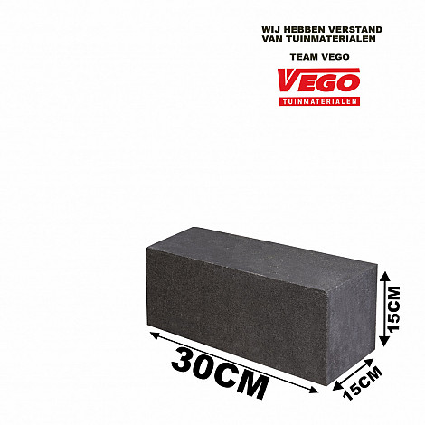 GeoPlano stapelblok Milano 30x15x15cm