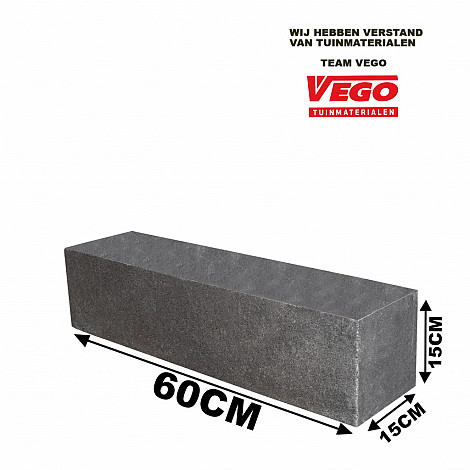 GeoPlano stapelblok Volterra 60x15x15cm