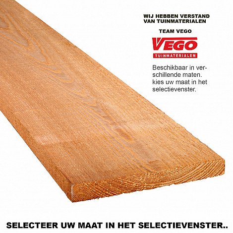 Douglas Ruwe Plank 1,6x14,4x180cm