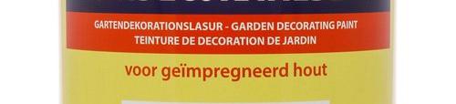 Tuinbeits en tuinverf