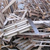 Ton houtafval gebracht opslag vego