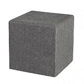 Schellevis Zitelement Vierkant 50x50x50cm Antraciet