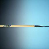Schoffel rond model  ATLAS  16 cm,  met steel + hilt 160 x 2,8 cm