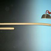 Aardappelhaksteel ESSEN gebogen ATLAS 140cm