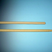 Hark-  Bezemsteel TAUARI  lange punt 85x17 mm 160x2,8