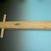 Houten bandenstamper ATLAS, 14,5 x 11,5 cm.