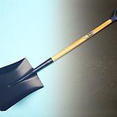 Ballastschop OFFNER  staal,  met  PD-steel 95 cm,   28 x 34 cm