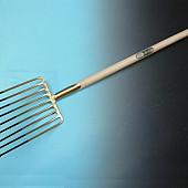 Aardappelvork OFFNER    9 tands, met  lipdul en YD-steel 95 cm