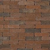 Abbeystones 20x5x7 cm Gesmoord Bruin met deklaag