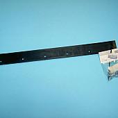 Canvas rubber  voor  PROLINE  mestschuiver  55 cm  incl. bouten en moeren