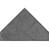Bisschopsmuts BSS 8 cm KOMO grijs met deklaag