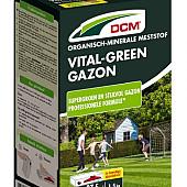 DCM Vital-Green (minigran®) NPK 13-3-8 +3% MgO+Fe doos á 1,5 kg.