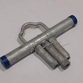 Verstelbaar handvat voor betonpoeren M16, M20 en M24 - zwaar