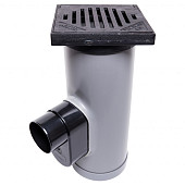 PVC Tegelpadkolk Ø250mm-Compleet
