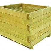 Bloembak vierkant 45 x 60 x 60 cm (HxBxD).