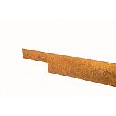 Mevoline Col-Met 2mm Ongecoat 225x15,2cm Incl. 3 Verankeringspennen Ongecoat 30,5cm