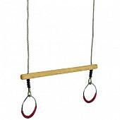 Ringen met trapeze.