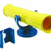 Telescoop kunststof, geel.