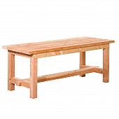 Douglas tafel Tiemen 80 x 80 x 200 cm, onbehandeld.