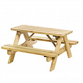 Junior picknicktafel Bj#rn, bladmaat 90 x 38,5 cm.