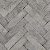 Betonklinkers + Facet Waalformaat Grijs/Zwart 5x20x6cm