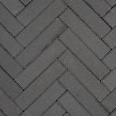 Betonklinkers + Facet Waalformaat Zwart 5x20x6cm