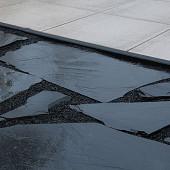 Flagstones Black Pearl 2-3 cm dik
